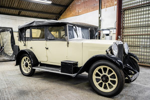 1929 Humber 4 door convertible