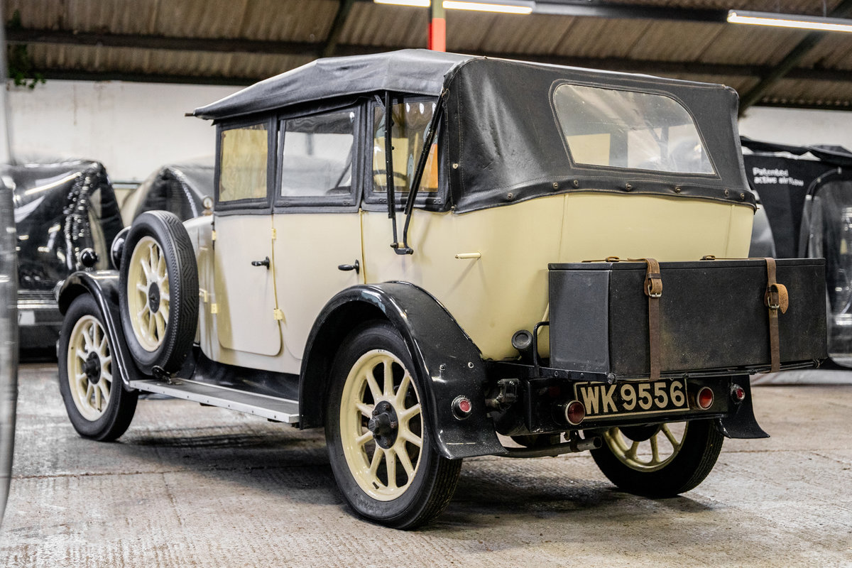 1929 Humber 4 door convertible For Sale (picture 2 of 6)