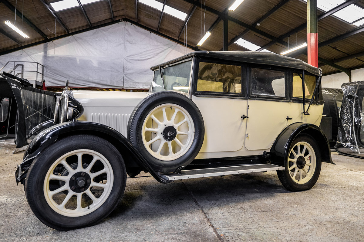 1929 Humber 4 door convertible For Sale (picture 3 of 6)