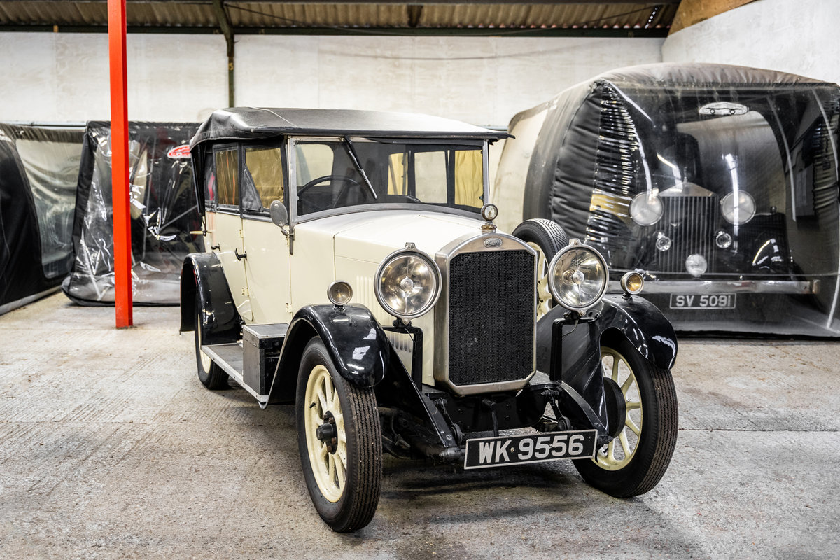 1929 Humber 4 door convertible For Sale (picture 4 of 6)