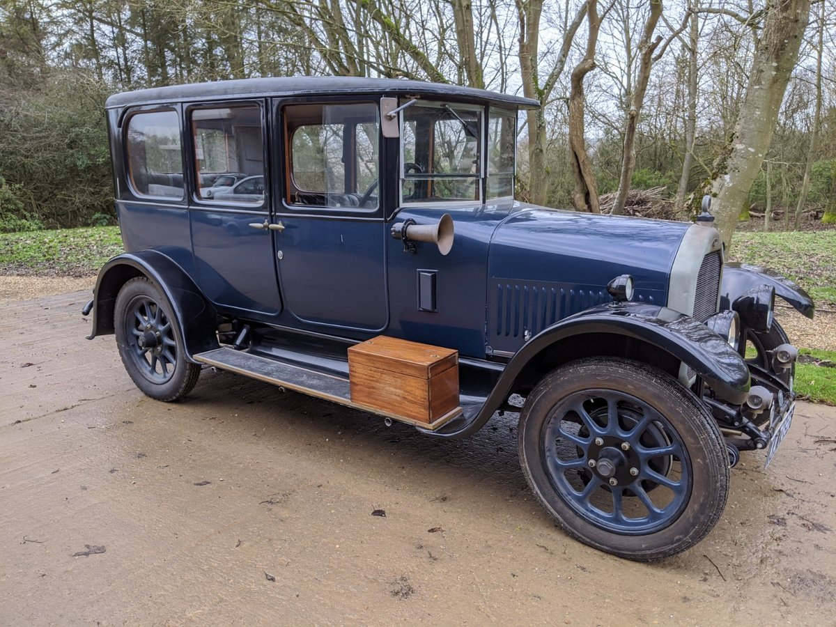 1927 Humber 14/40 Six Light Saloon For Sale (picture 1 of 6)