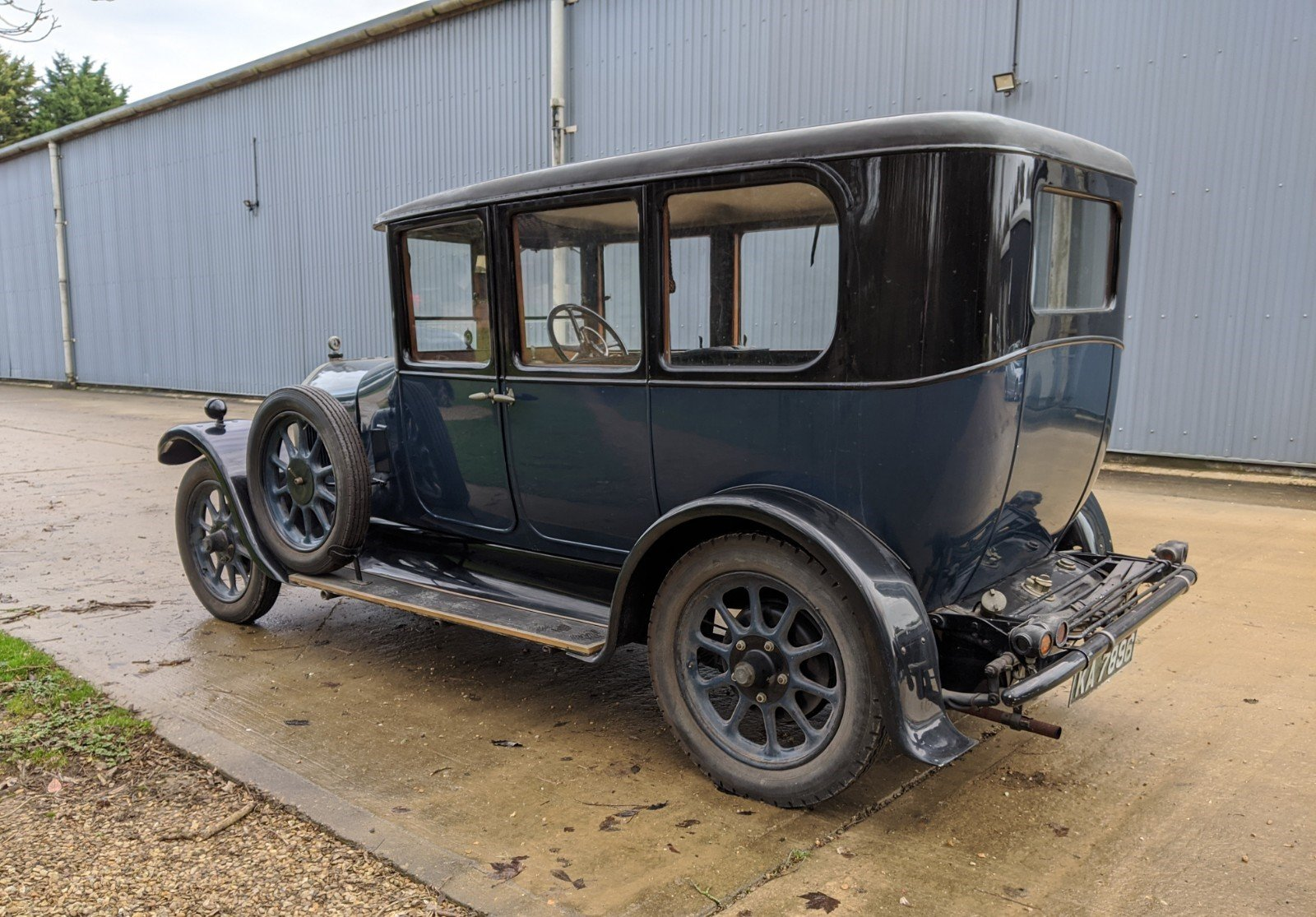 1927 Humber 14/40 Six Light Saloon For Sale (picture 3 of 6)