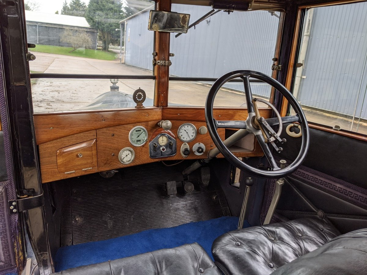 1927 Humber 14/40 Six Light Saloon For Sale (picture 4 of 6)