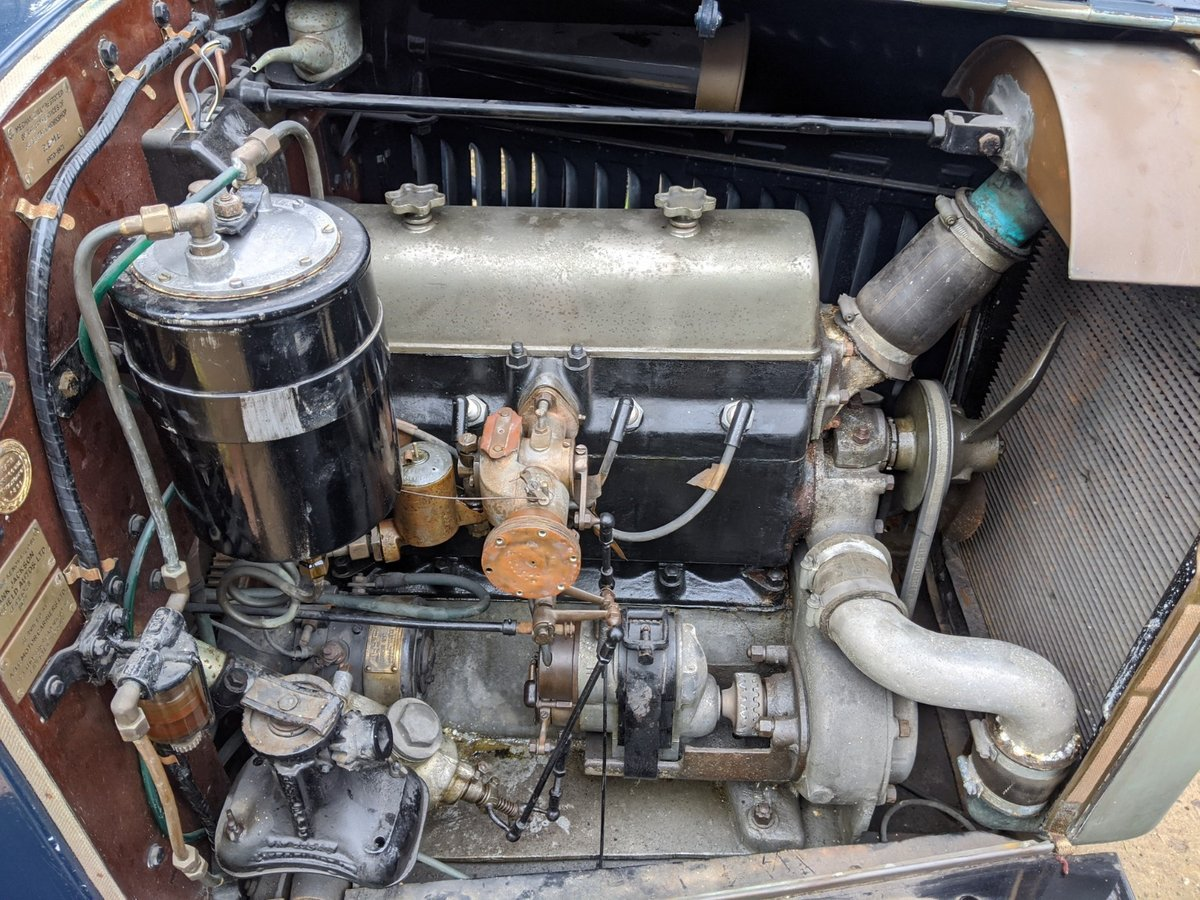 1927 Humber 14/40 Six Light Saloon For Sale (picture 6 of 6)