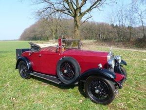 1930 Humber 16/50 hp - dickey seat