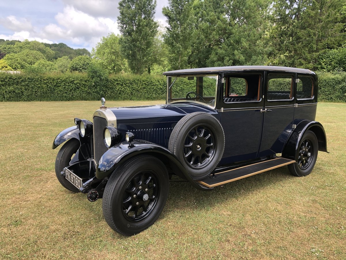1929 Humber 16/50 saloon - Award Winner   For Sale (picture 1 of 24)