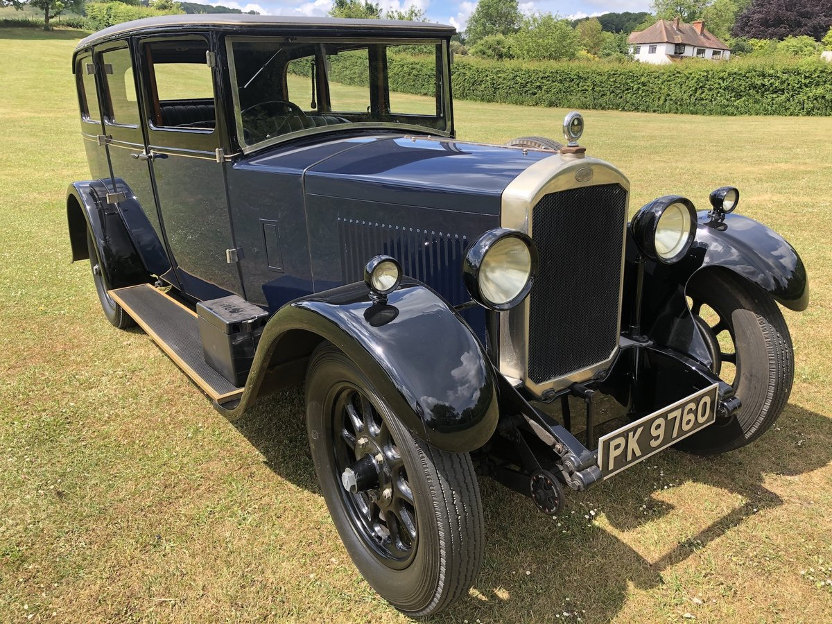 1929 Humber 16/50 saloon - Award Winner   For Sale (picture 16 of 24)