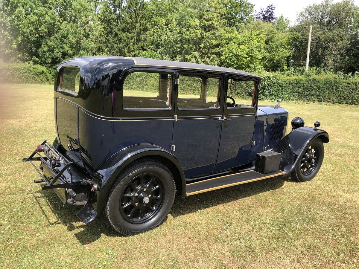 1929 Humber 16/50 saloon - Award Winner   For Sale (picture 18 of 24)