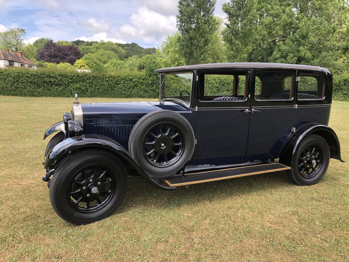 1929 Humber 16/50 saloon - Award Winner   For Sale (picture 19 of 24)