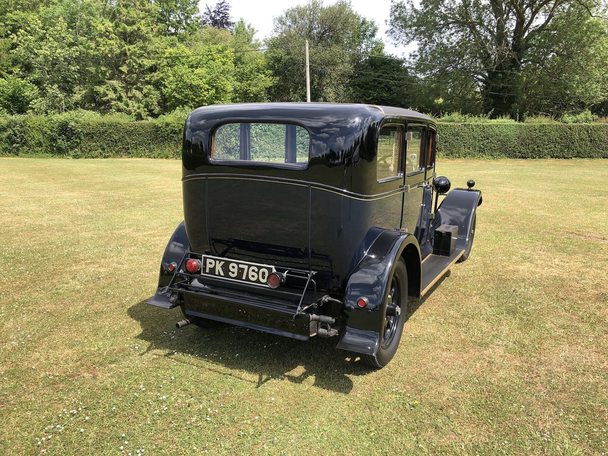 1929 Humber 16/50 saloon - Award Winner   For Sale (picture 21 of 24)