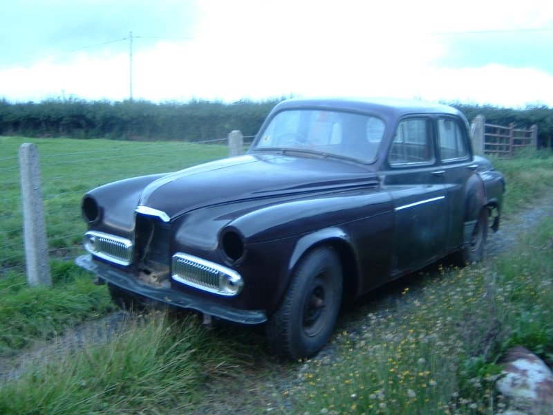 1953 Humber Super Snipe Mk4 Early Car For Sale (picture 2 of 3)