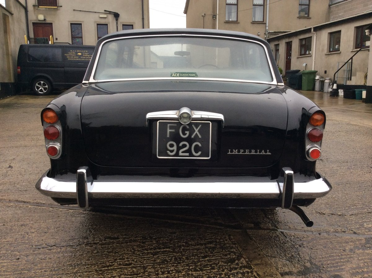 1965 Humber super snipe imperial For Sale (picture 4 of 6)
