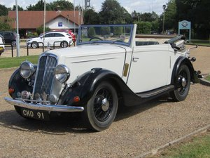 1936 Humber 12 DHC at ACA 22nd August  For Sale
