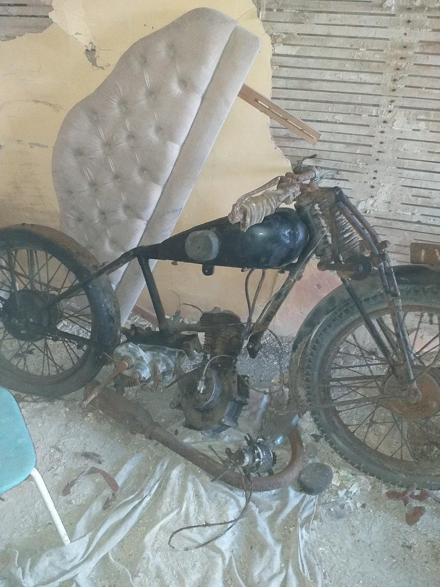 1930 Humber motorbike very rare For Sale (picture 1 of 2)