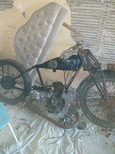 Picture of 1930 Humber motorbike very rare