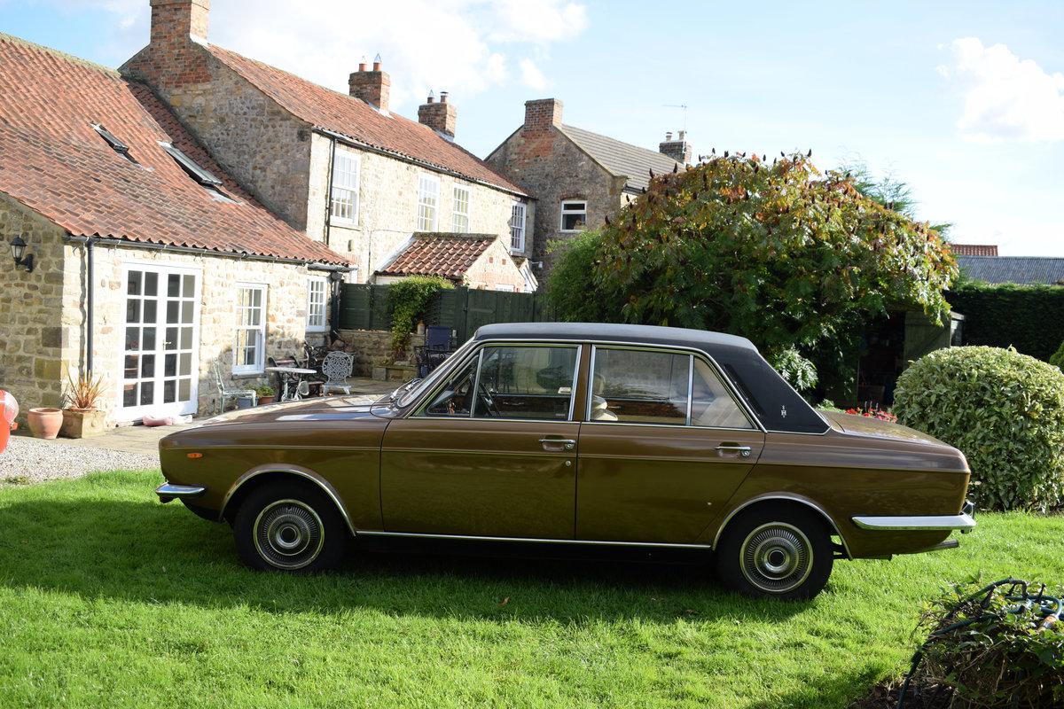 1972 HUMBER SCEPTRE - M/OD, 1 OWNER 47 YEARS, JUST LOVELY! SOLD (picture 1 of 6)