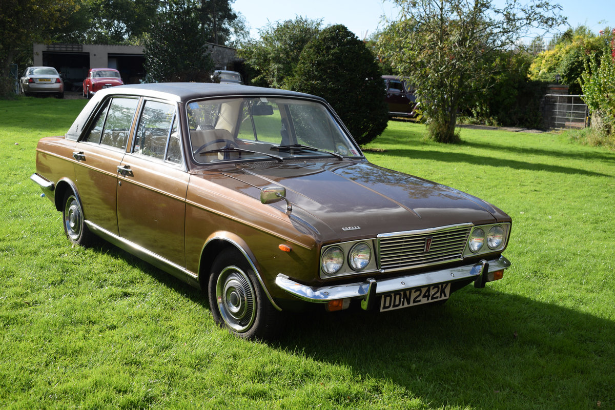 1972 HUMBER SCEPTRE - M/OD, 1 OWNER 47 YEARS, JUST LOVELY! SOLD (picture 2 of 6)