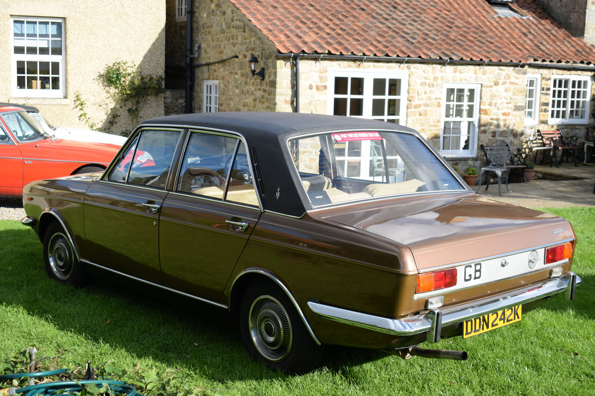 1972 HUMBER SCEPTRE - M/OD, 1 OWNER 47 YEARS, JUST LOVELY! SOLD (picture 3 of 6)
