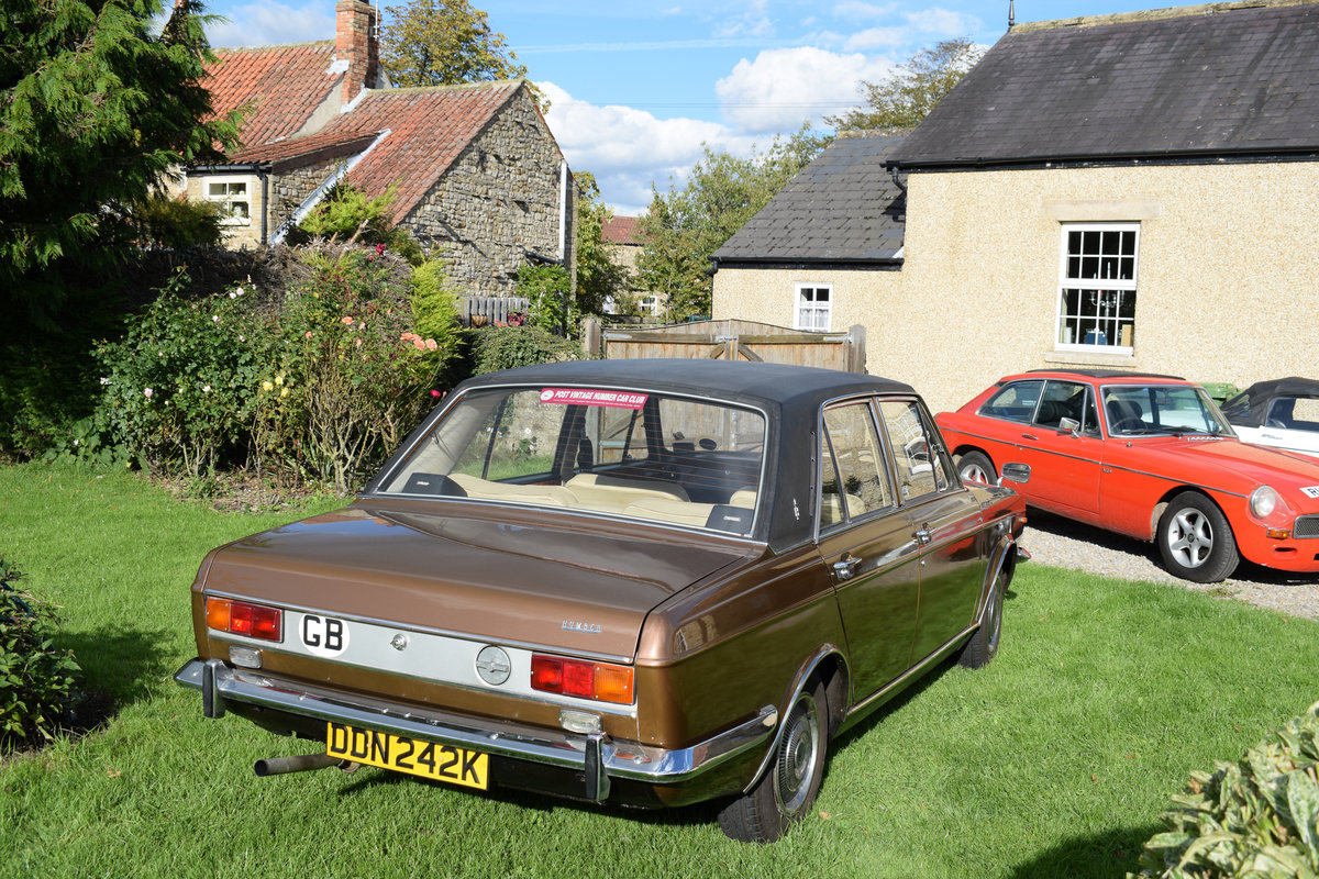 1972 HUMBER SCEPTRE - M/OD, 1 OWNER 47 YEARS, JUST LOVELY! SOLD (picture 4 of 6)