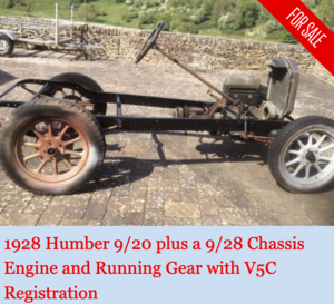 Vintage Humber  9/20 and 9/28 kit