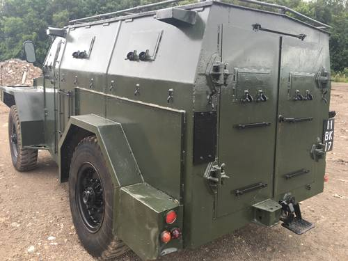 1954 humber pig stealth armoured vehicle For Sale (picture 2 of 6)