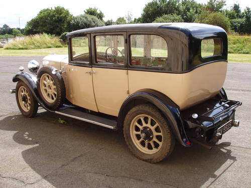 1930 Humber 16/50 Imperial saloon For Sale (picture 2 of 6)