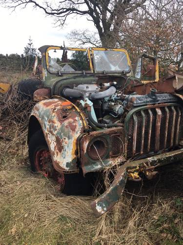 Humber Ex Military (Rolls Royce Engine) For Sale (picture 1 of 2)