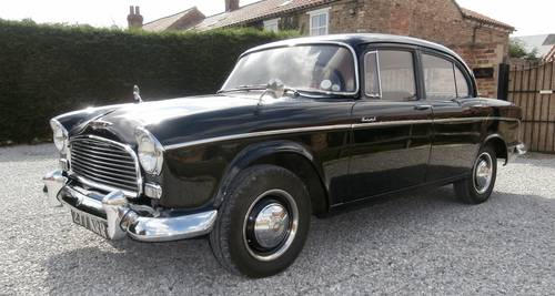 1958 Humber Hawk Series One  ( superb example ) SOLD (picture 1 of 6)