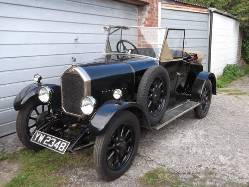 1928 Humber 9/20 two seat plus dickey SOLD (picture 1 of 6)