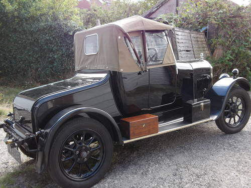 1928 Humber 9/20 two seat plus dickey SOLD (picture 4 of 6)