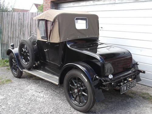 1928 Humber 9/20 two seat plus dickey SOLD (picture 5 of 6)