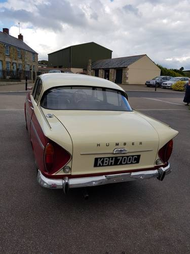 1965 Humber Sceptre to be sold on October 28th SOLD by Auction (picture 3 of 6)