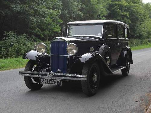 1931 Humber Pullman Limousine Laundaulette For Sale (picture 2 of 6)