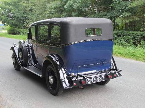 1931 Humber Pullman Limousine Laundaulette For Sale (picture 3 of 6)