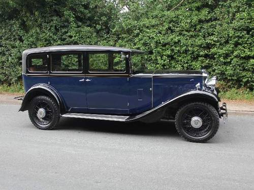 1931 Humber Pullman Limousine Laundaulette For Sale (picture 4 of 6)