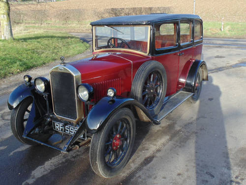 1929 Humber 9/28 SOLD (picture 1 of 6)