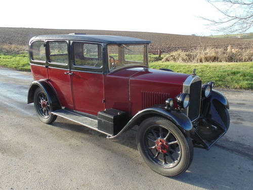 1929 Humber 9/28 SOLD (picture 2 of 6)