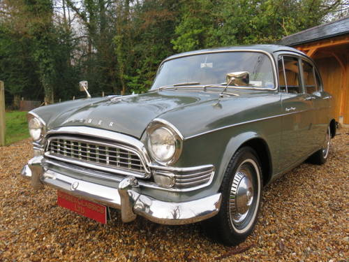 1960 Humber Super Snipe Series 2 (Credit Cards Accepted) SOLD (picture 1 of 6)