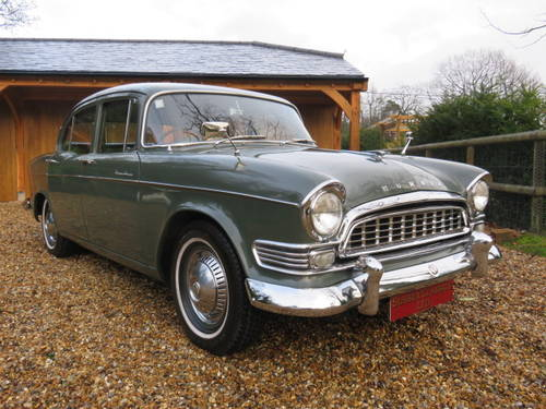 1960 Humber Super Snipe Series 2 (Credit Cards Accepted) SOLD (picture 2 of 6)