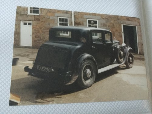 1933 Humber Snipe 80 Sports Saloon For Sale (picture 2 of 4)