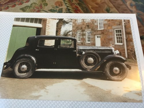 1933 Humber Snipe 80 Sports Saloon For Sale (picture 3 of 4)