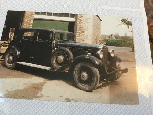 1933 Humber Snipe 80 Sports Saloon For Sale (picture 4 of 4)