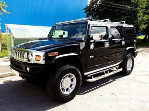 2005 HUMMER H2 SUPER CHARGED IN IMMACULATE CONDITION SOLD