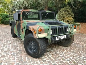 1985 Genuine Military H1 Humvee - The Original Hummer For Sale