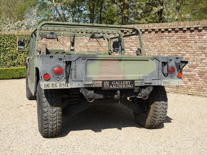 Hummer H1 AM General Humvee M998 HMMWV 'Troop Carrier' 6.2 For Sale (picture 6 of 6)