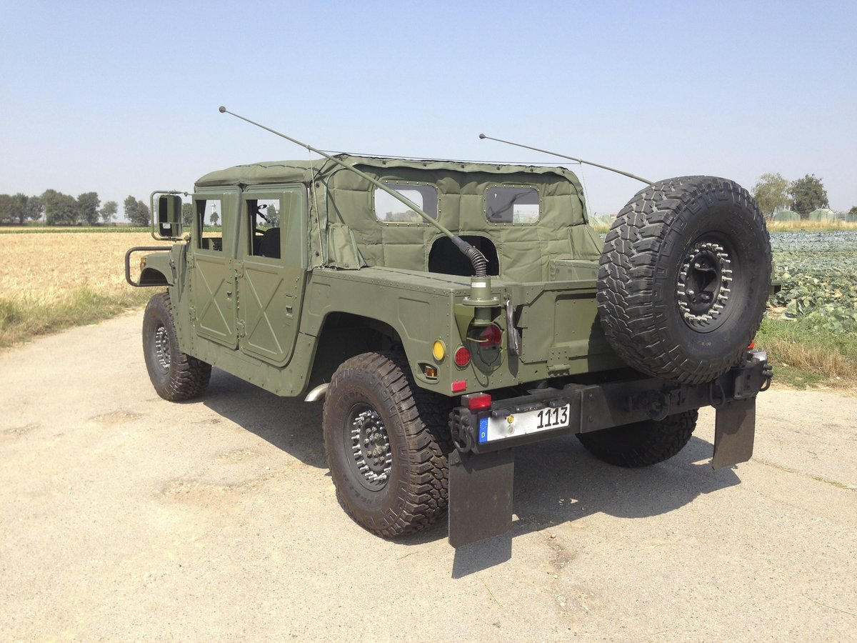 1999 Military H1 M1113 Spec Superb condition like new For Sale (picture 2 of 6)