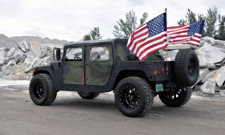 1988 Hummer H1 AM GENERAL M99 Humvee = 6.5L V8 Diesel For Sale (picture 3 of 6)