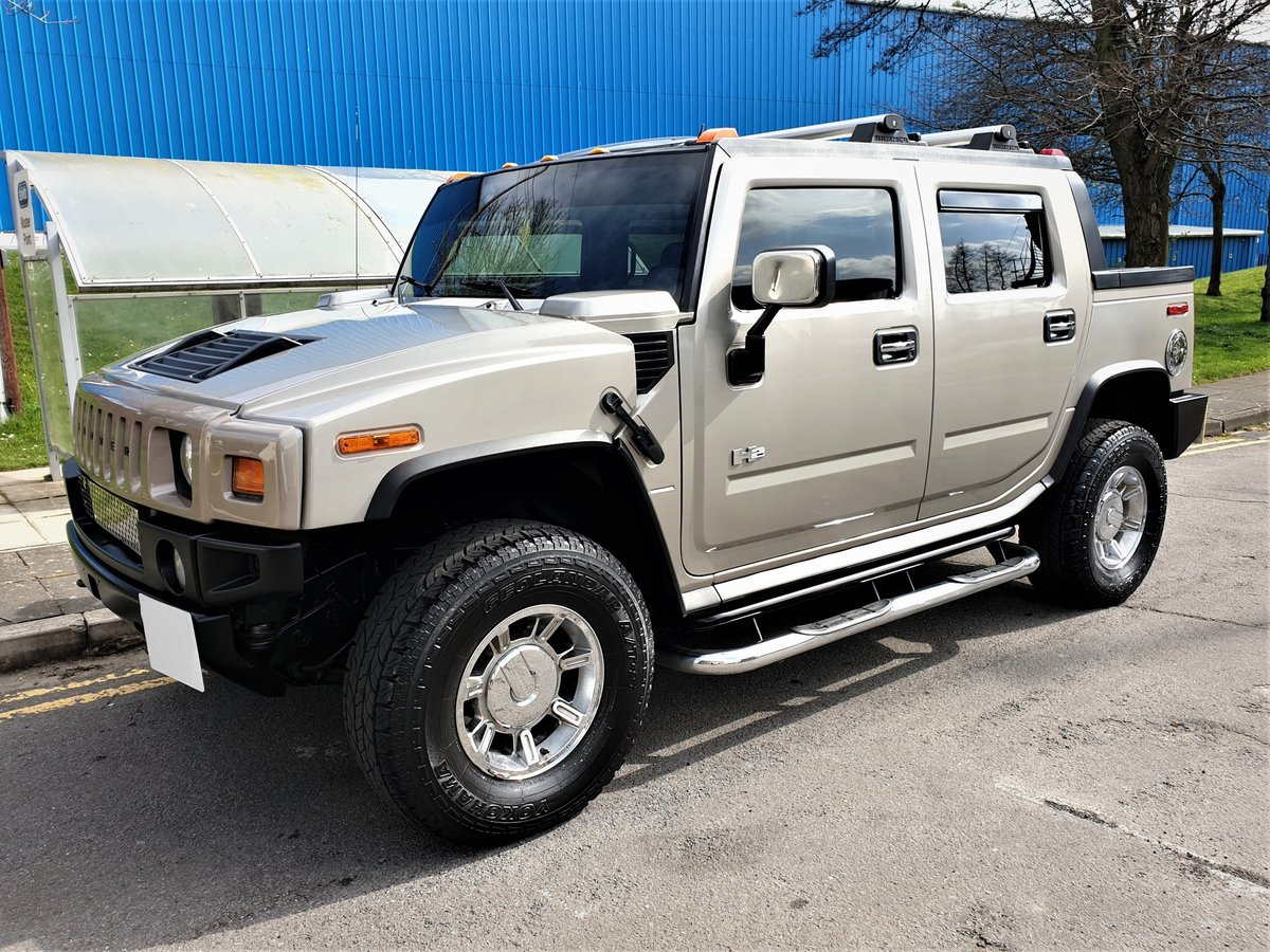 2005 HUMMER H2 SUT LUX LPG IN EXCELLENT CONDITION For Sale (picture 1 of 6)