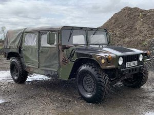 1987 Hummer HMMWV-M1025 For Sale by Auction