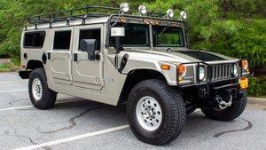 2002 Hummer H1 6.5L Duramax Diesel SUV Silver(~)Grey $69.9k For Sale